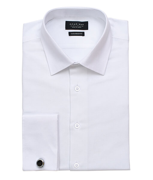Tailored White Dress Shirt
