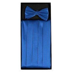 Blue Cummerbund Set