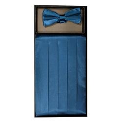 Blue Sapphire Cummerbund Set