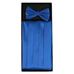 Blue Cummerbund Set