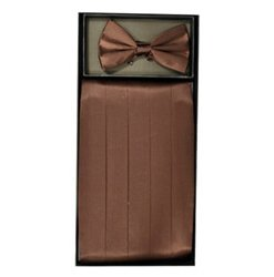 Brown Cummerbund Set
