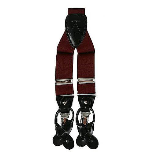 Burgundy Suspender