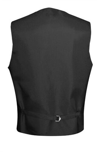Charcoal Satin Vest