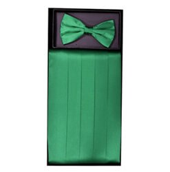 Emerald Green Cummerbund Set