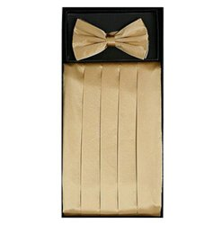 Gold Cummerbund Set