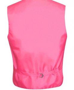 Hot Pink Satin Vest