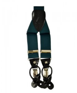 Hunter Green Suspender