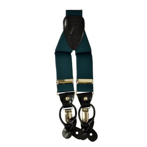 Hunter Green Suspender