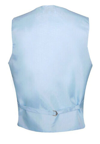 Light Blue Satin Vest