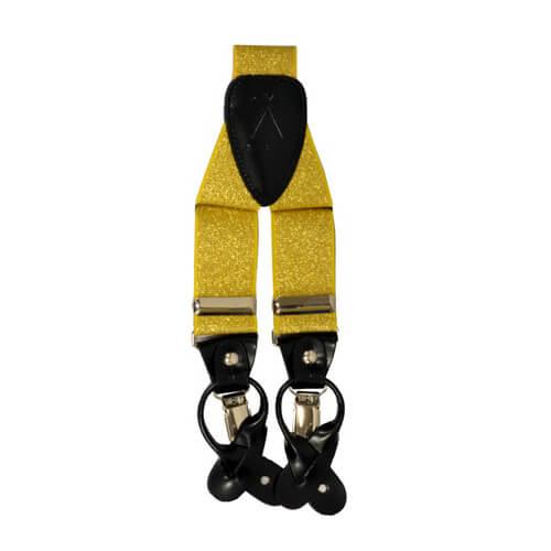 Metallic Gold Suspender