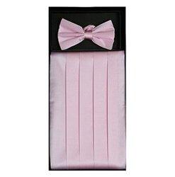Pink Cummerbund Set