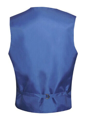 Royal Blue Satin Vest