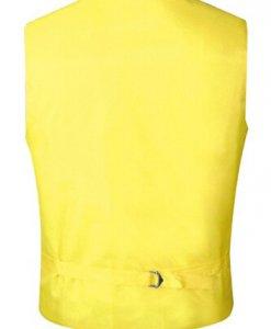 Yellow Satin Vest