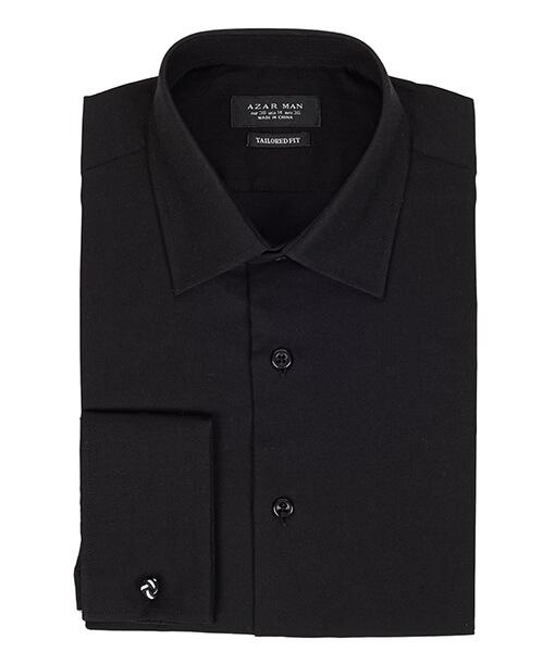 Azar Suits Black French Cuff