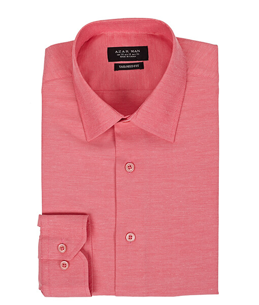 Azar Suits Pink Shirt