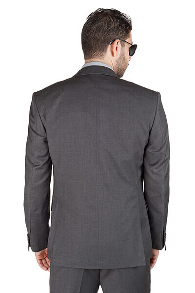AzarSuits 3pc Grey Suit