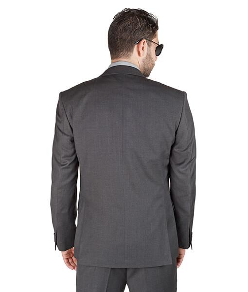 AzarSuits 3pc Grey Suit