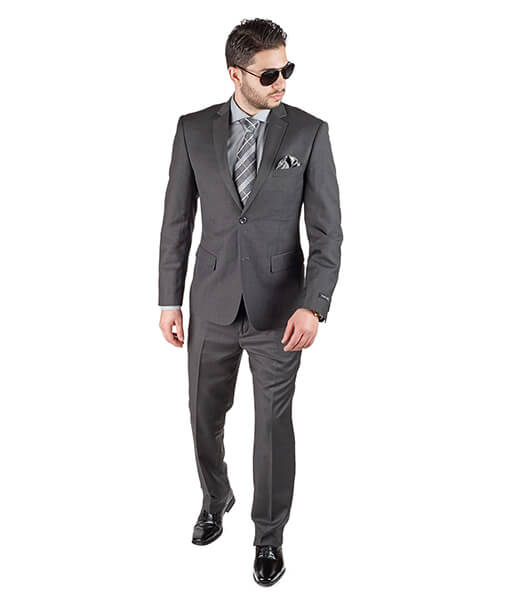 AzarSuits Dark Grey Suit