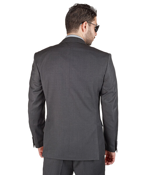 AzarSuits Dark Grey Suit