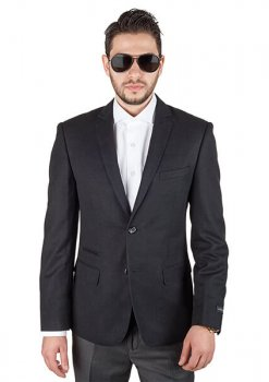 AzarSuits Black Sport Coat