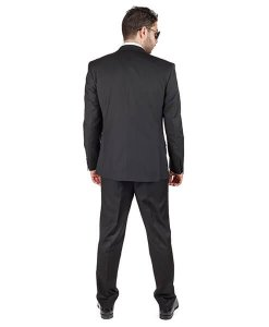 AzarSuits 3pc Black Suit