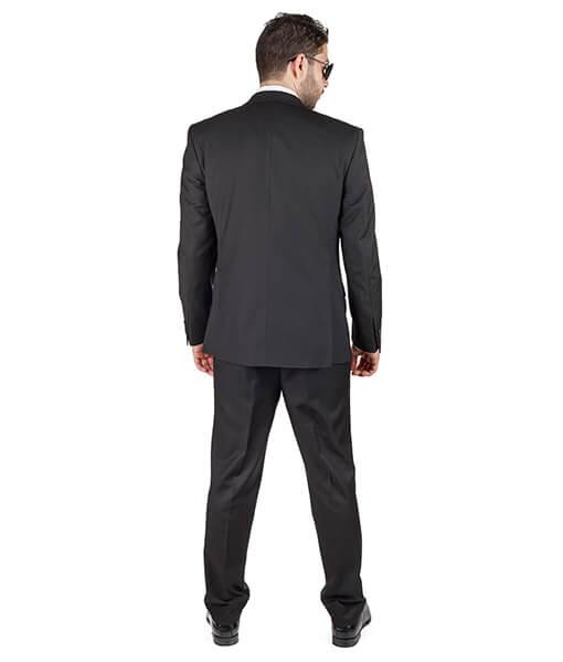 AzarSuits 3pc Black Suit
