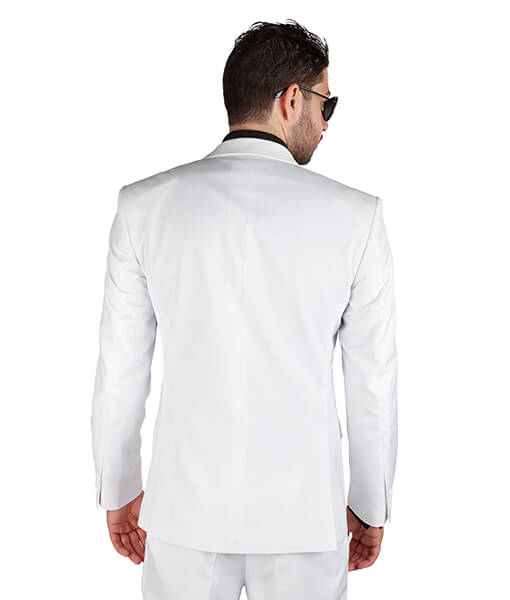 AzarSuits White Suit