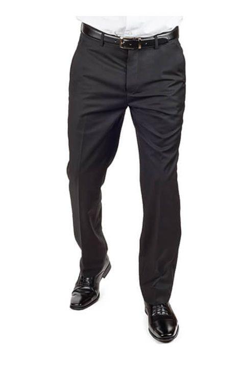 Black Slim Fit Dress Pants