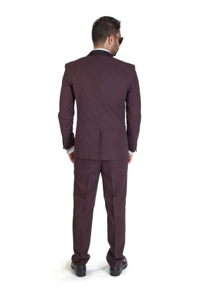 Slim-Fit-1-Button-Burgundy-Suede-Shawl-Collar-6