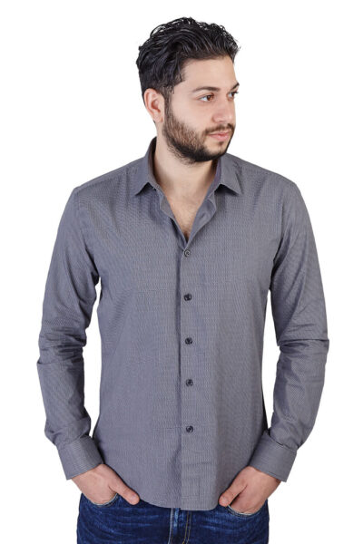 Slim Fit Plaid Checkered Shirt