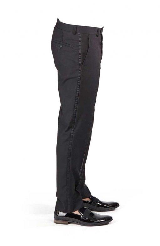 Slim-Fit-1-Button-Black-Paisley-Satin-Collar-Jacket-Black-Pants-1778-3