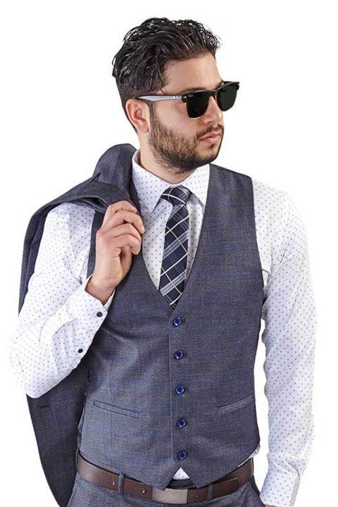 Grey-Windowpane-Dress-Vest
